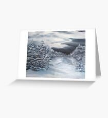 Bitter Cold Greeting Card