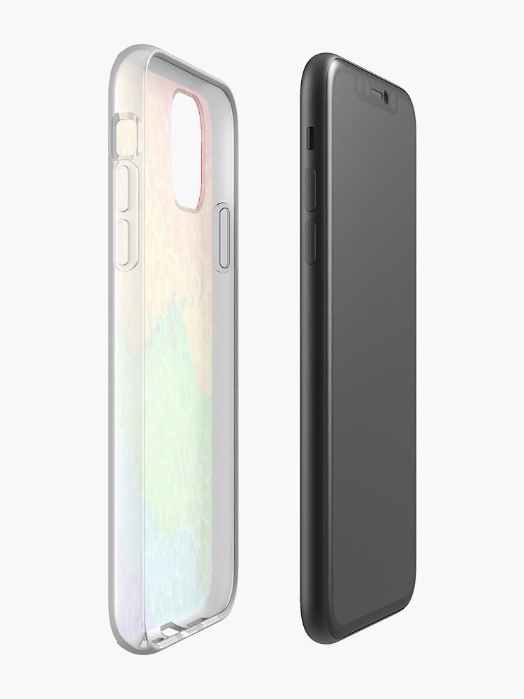 Coque iPhone «Arc-en-ciel électrique», par JLHDesign
