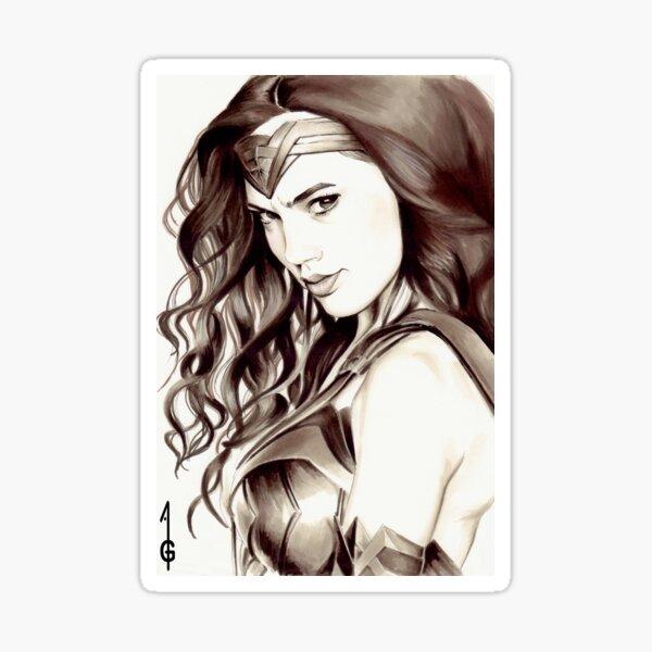 Warrior Princess Sticker