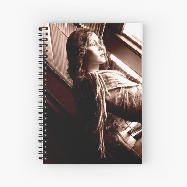 floating the breeze Spiral Notebook