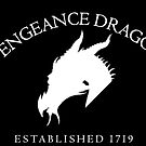 Vengeance Dragon Large Logo (Light on Dark) by CaptainMaiola