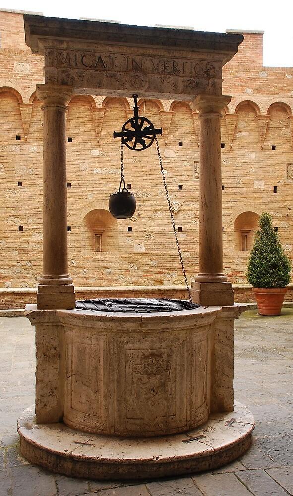 Well in Siena  by jojobob