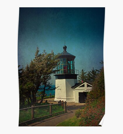 Cape Meares Lighthouse - Oregon Poster