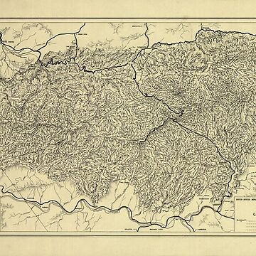 Map of the Great Smoky Mountains National Park (1935) by allhistory