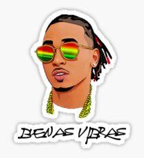 Buenas Vibras, J Balvin, Ozuna, Bad Bunny, Cardi B, Nicky Jam, Maluma, Yandel, Don Omar, Nicki Minaj, Farruko, Daddy Yankee Sticker