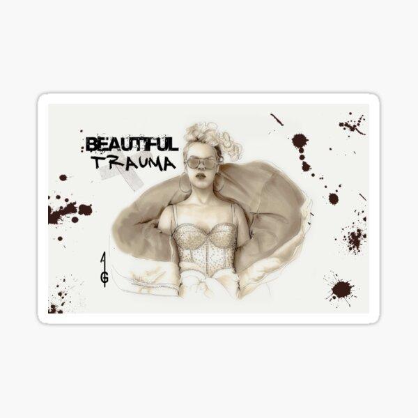 Beautiful Trauma Sticker