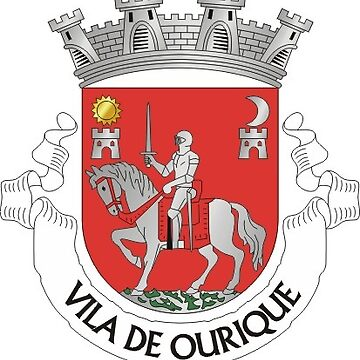 Coat of Arms of Ourique, Portugal by Tonbbo