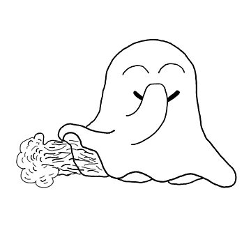Funny Ghost Ghost Halloween Fart Spook Spook by yoddel