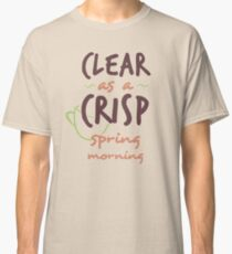 Clear as a Crisp Spring Morning (Deadly Premonition) Classic T-Shirt