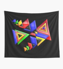 TRIANGLE BUNT Wall Tapestry
