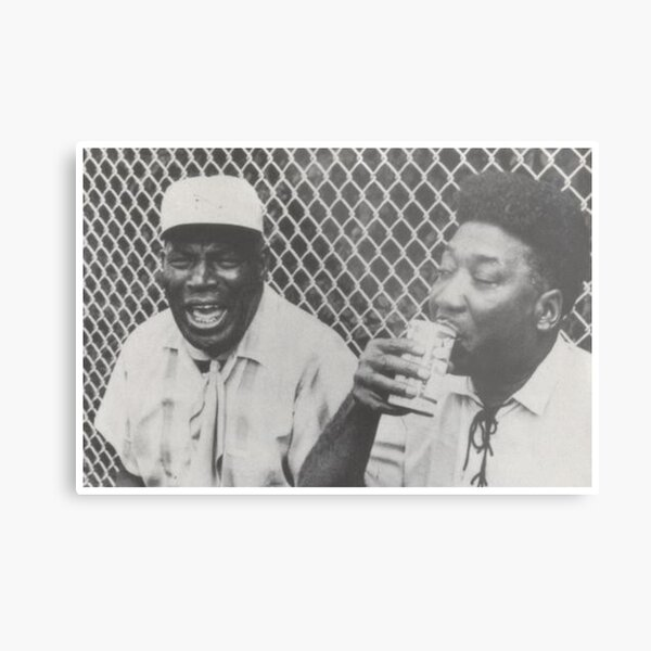 Howlin Wolf and Muddy Waters Metal Print