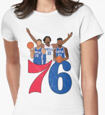 Sixers Women's Fitted T-Shirt
