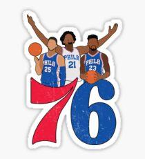 Sixers Sticker