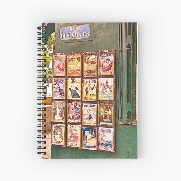 Parisien1 Spiral Notebook