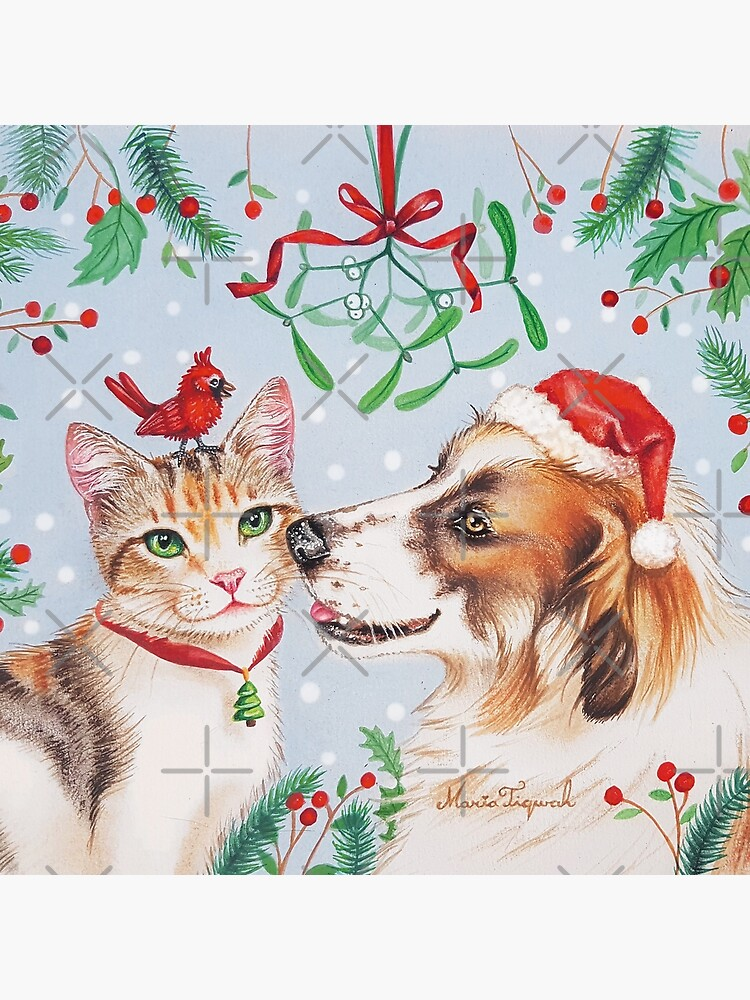 Christmas kiss by Maria Tiqwah by MariaTiqwah