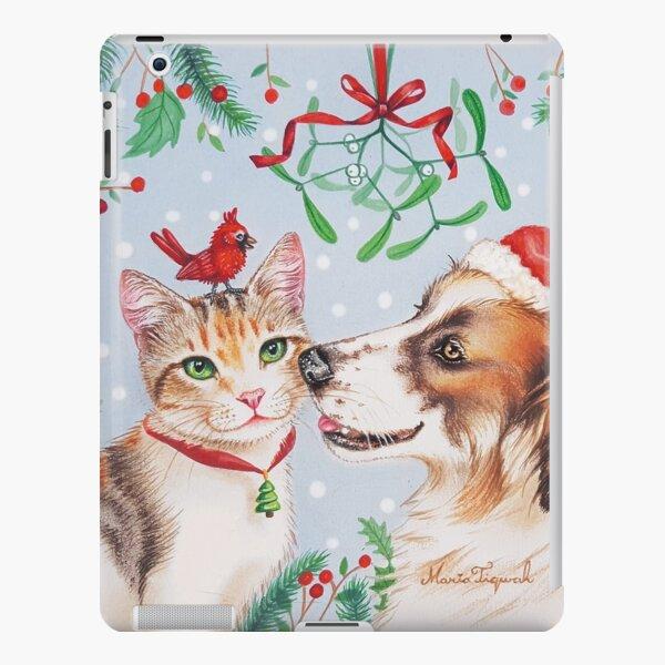 Christmas kiss by Maria Tiqwah iPad Snap Case