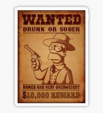 Homerwest Sticker