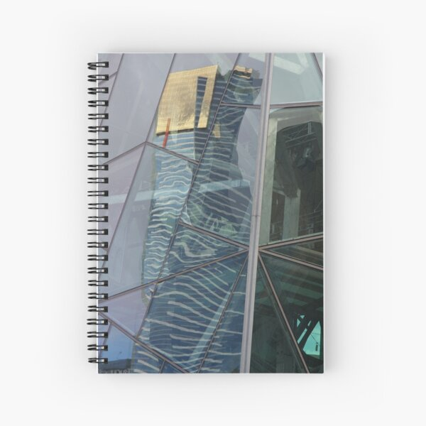 Multiple Fractures Spiral Notebook