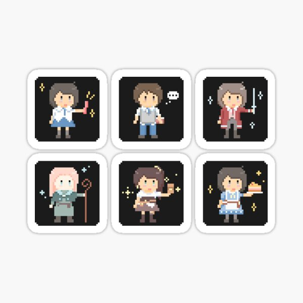AA Icon Set 1 Sticker
