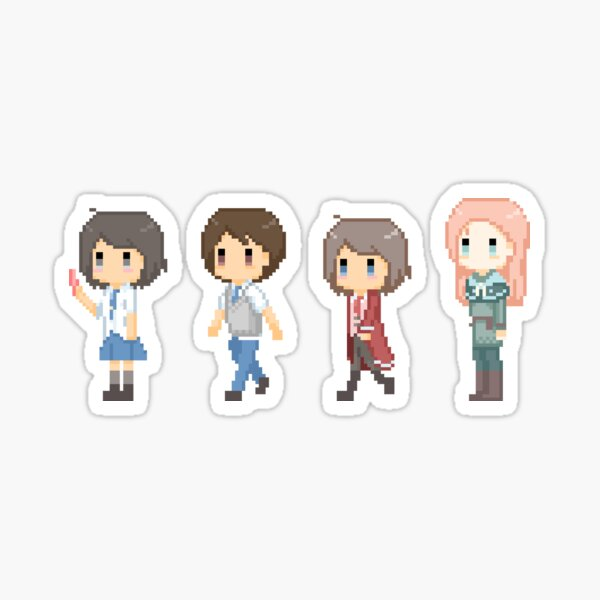 RPG character set Sticker