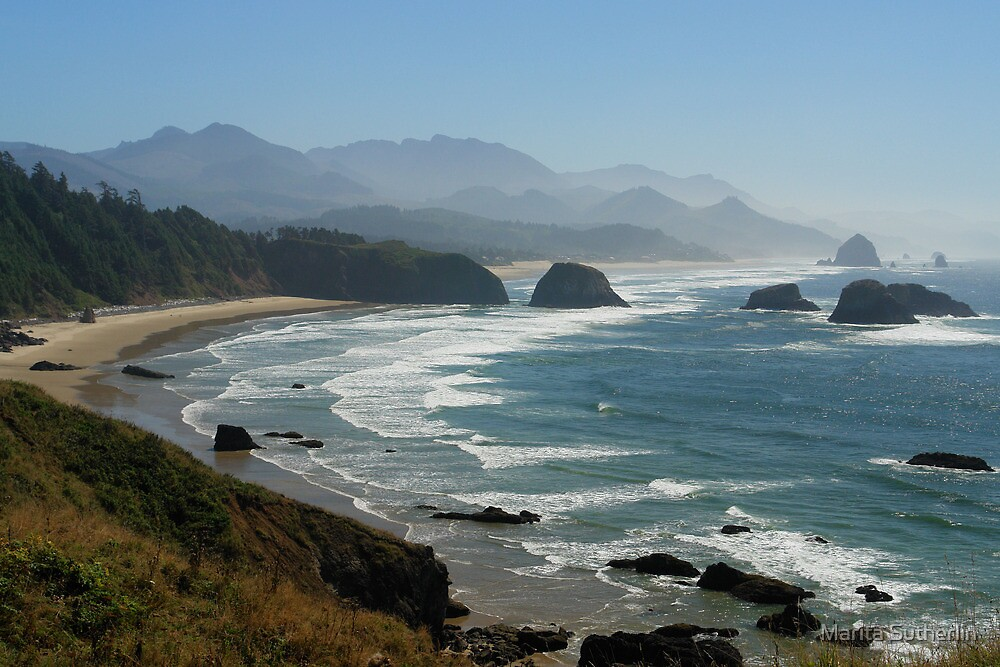 Ecola State Park, Oregon by Marita Sutherlin