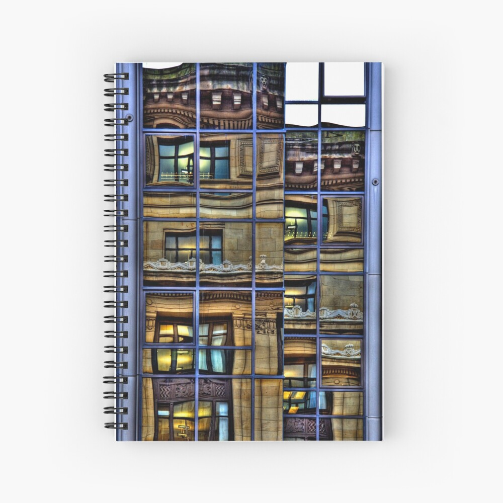 Reflections of Glasgow (1) Spiral Notebook