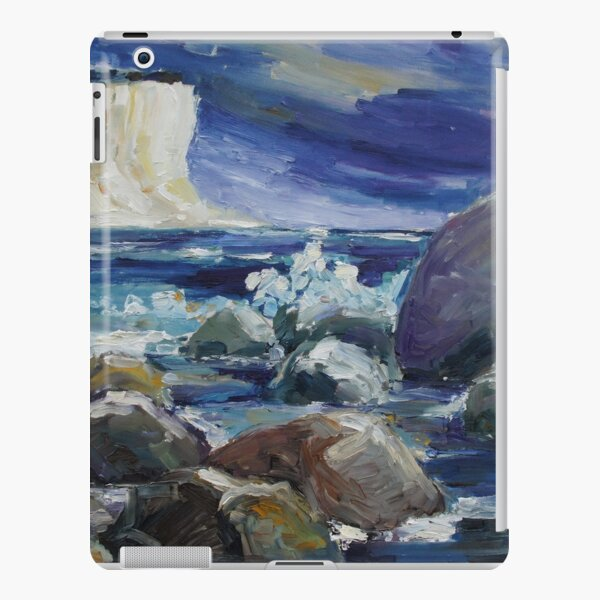 Approaching Storm At Kap Arkona iPad Snap Case