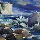 Approaching Storm At Kap Arkona by Barbara Pommerenke