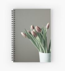 To pale grey days Spiral Notebook