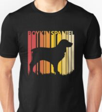 Vintage Retro Boykin Spaniel Christmas Gift Unisex T-Shirt