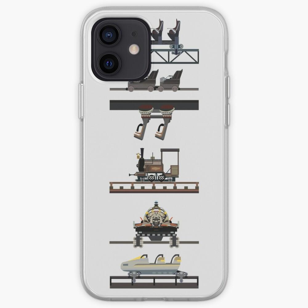 Phantasialand Coaster Cars Design iPhone Case & Cover
