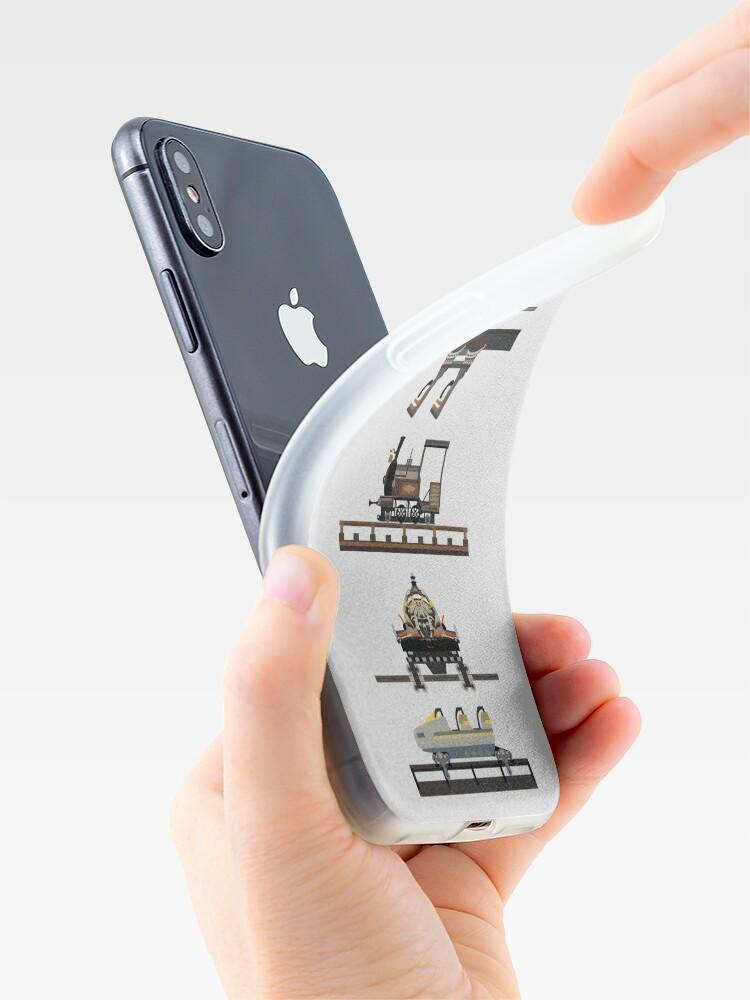 Alternate view of Phantasialand Coaster Cars Design iPhone Case & Cover