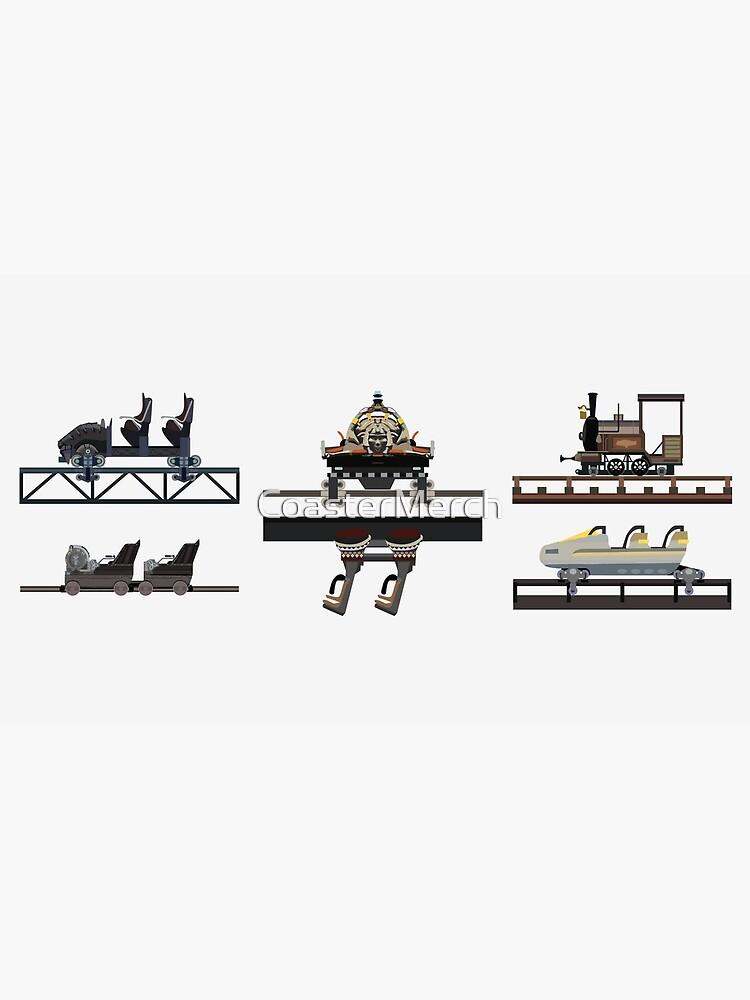Phantasialand Coaster Cars Design by CoasterMerch