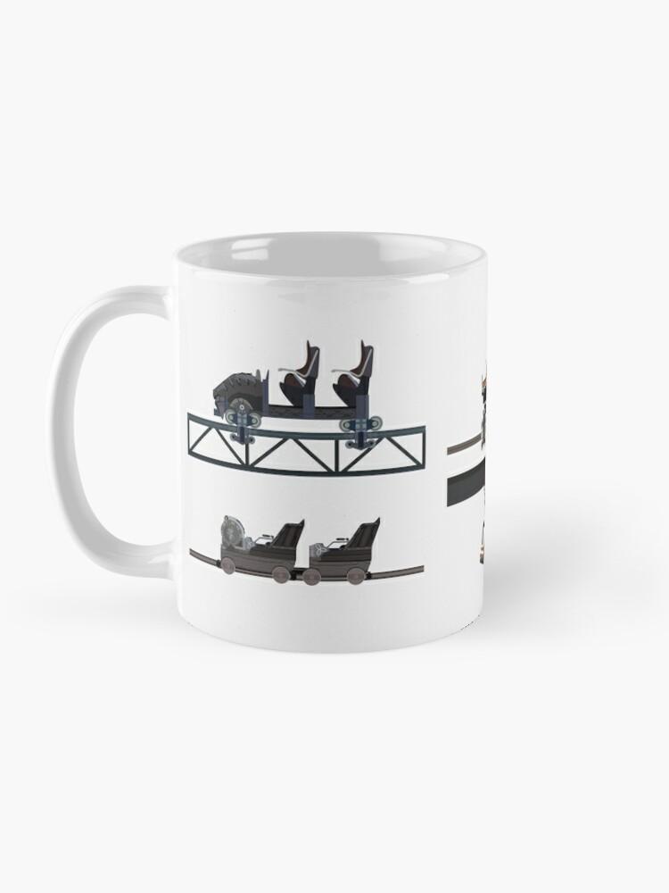 Alternate view of Phantasialand Coaster Cars Design Mug