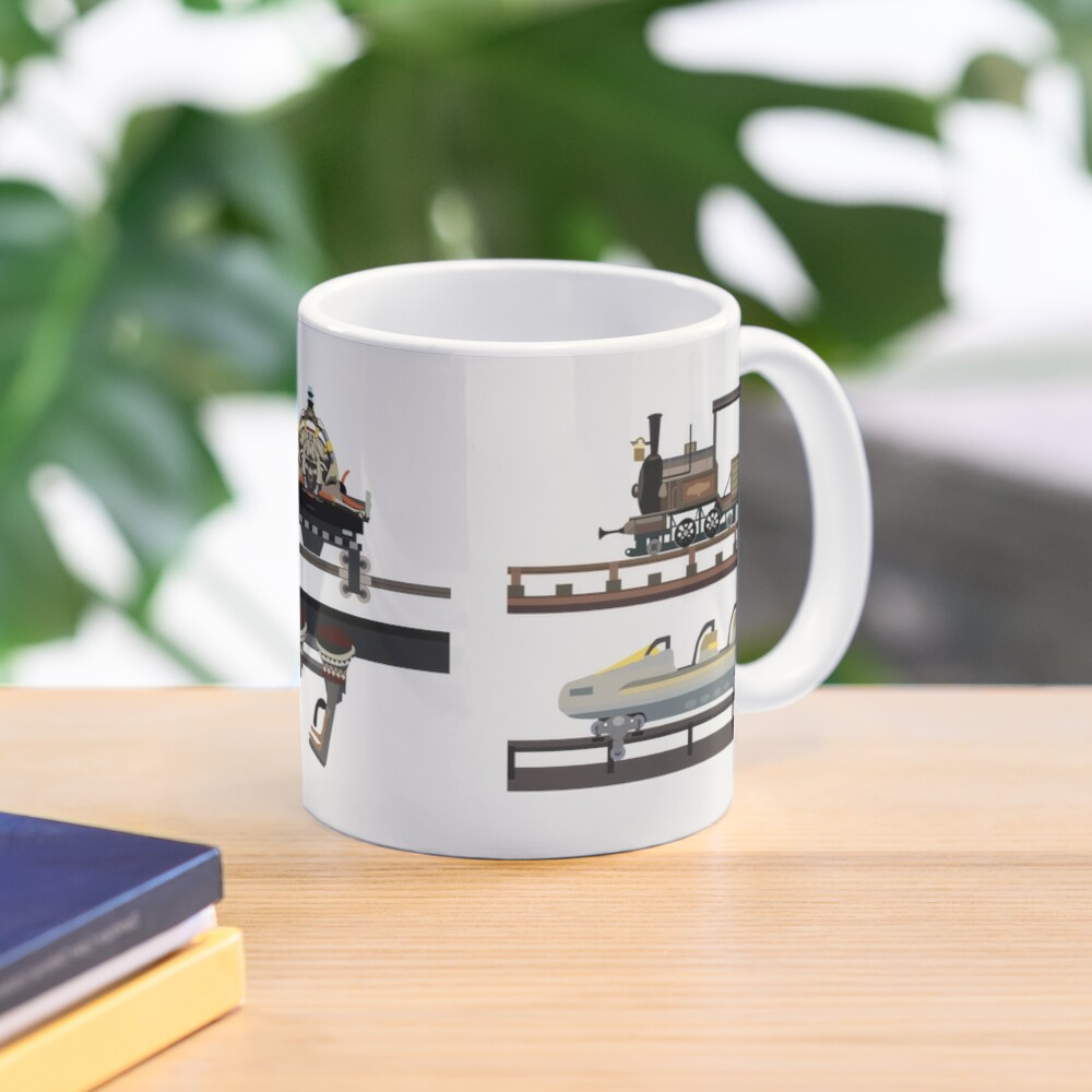Phantasialand Coaster Cars Design Mug