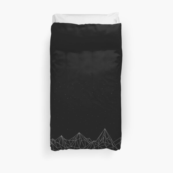 ACOTAR Night Court Mountains Duvet Cover