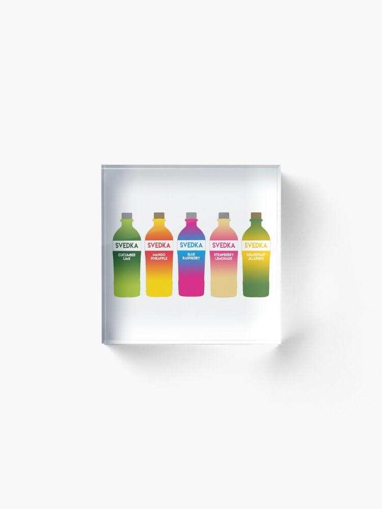 Alternate view of Svedka flavors Acrylic Block