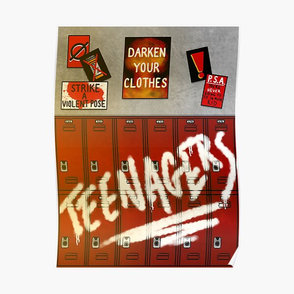 Teenagers Poster