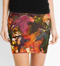 Autumn Leaves Mini Skirt