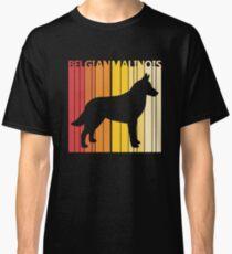 Vintage Retro Belgian Malinois Christmas Gift Classic T-Shirt
