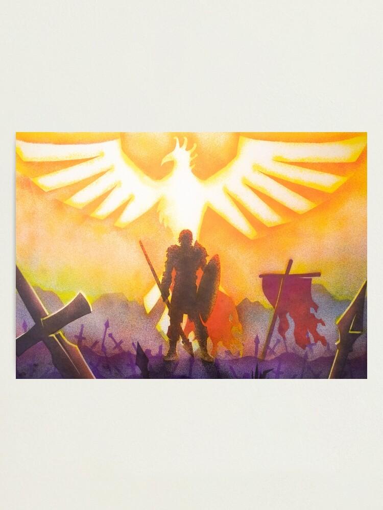 Alternate view of The Phoenix of the BLOpen Battlefield Photographic Print