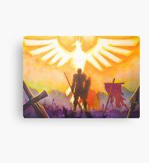 The Phoenix of the BLOpen Battlefield Canvas Print