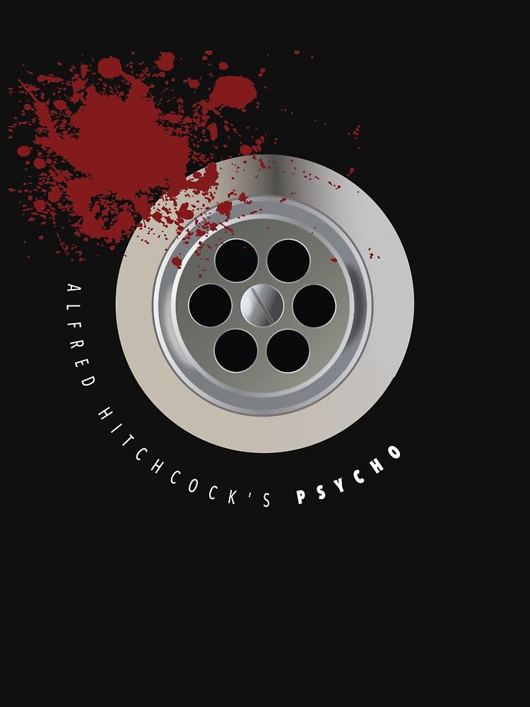 Psycho - Alternative Movie Poster by MoviePosterBoy