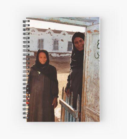 Nubian Women Spiral Notebook