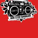 Non Stop Bhangra Boom Box Mens by Non Stop Bhangra