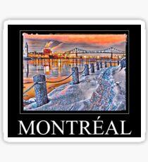 Montréal  Sticker