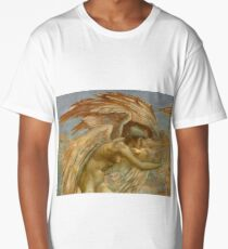 "Edward Burne-Jones ""A Gorgon (a fragment)"" Long T-Shirt"