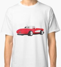 1959 Corvette Red Racer Classic T-Shirt