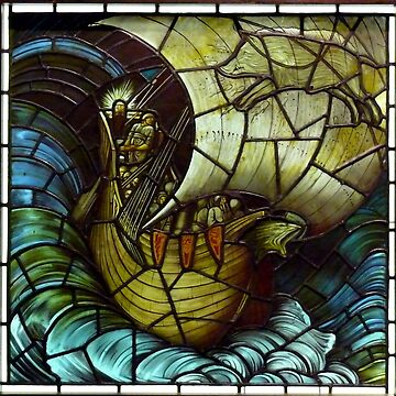 "Edward Burne-Jones ""Viking Ship"" by ALD1"