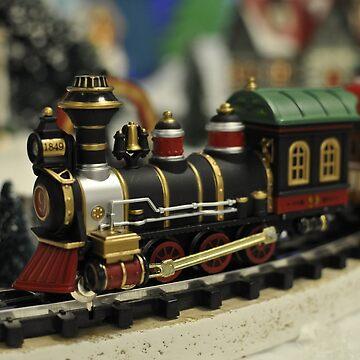 Christmas train by LudaNayvelt